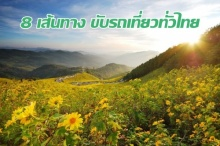 8 เส้นทางขับรถเที่ยวทั่วเมืองไทย ที่ห้ามพลาด