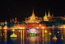 สุขใจทั่วไทย ไปไหนดีในวันลอยกระทงปีนี้