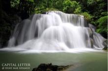 น้ำตกห้วยแม่ขมิ้น หนึ่งในน้ำตกที่สวยงามที่สุดในประเทศไทย