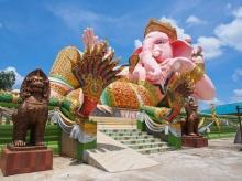 สักการะ พระพิฆเนศ องค์ใหญ่ที่สุดในประเทศไทย