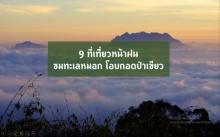 9 ที่เที่ยวหน้าฝน ชมทะเลหมอก โอบกอดป่าเขียว