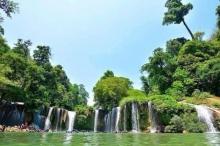 ร้อนนี้เที่ยว น้ำตกกลูทอ กลูทอทีลอซู ในเมียนมา - แองโกลา แห่งเอเซีย