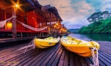 5 แพริมน้ำ บรรยากาศดีๆที่ กาญจนบุรี