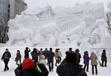 กำหนดการจัดงานเทศกาลหิมะ ซัปโปโร 2017 snow festival