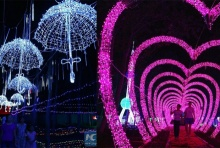 ระยิบระยับ! โลกแห่งแสงไฟในเมืองจี๋โม่ ประเทศจีน