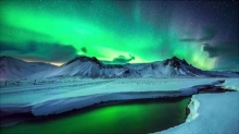 ชมแสงเหนือ! AURORA BOREALIS เหนือเกาะกรีนแลนด์และไอซ์แลนด์สวยที่สุดในโลก