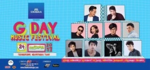 เอาใจคอเพลงไทย! เทศกาลดนตรีสุดป็อปแห่งปี CHABAA Present G Day Music Festival